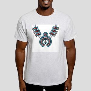 Squash Blossom Necklace Light T-Shirt