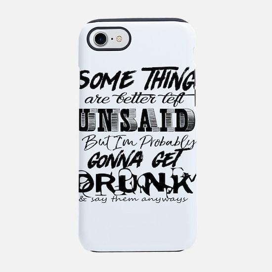 drunk humor iPhone 8/7 Tough Case