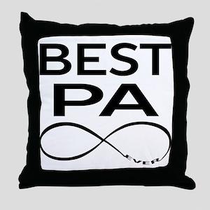 BEST PA EVER Throw Pillow