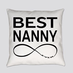 BEST NANNY EVER Everyday Pillow