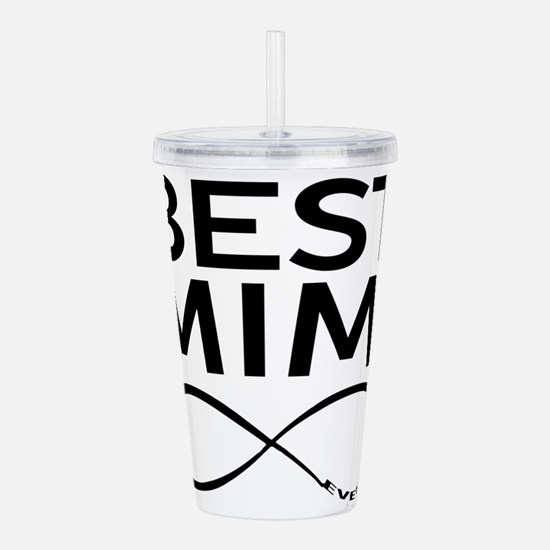 BEST MIMI EVER Acrylic Double-wall Tumbler