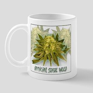 "POT: ""Official State Weed"" Mug"