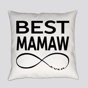 BEST MAMAW EVER Everyday Pillow