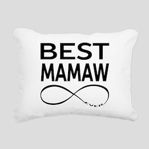 BEST MAMAW EVER Rectangular Canvas Pillow