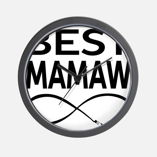 BEST MAMAW EVER Wall Clock