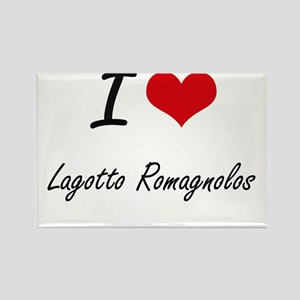 I love Lagotto Romagnolos Magnets