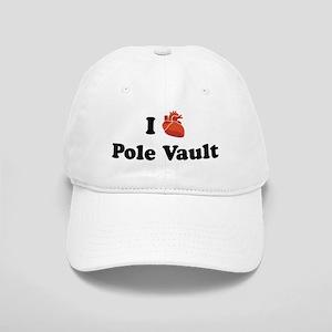 I (Heart) Pole Vault Cap