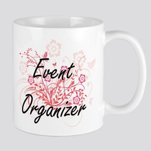 Event Organizer Artistic Job Design with Flow Mugs