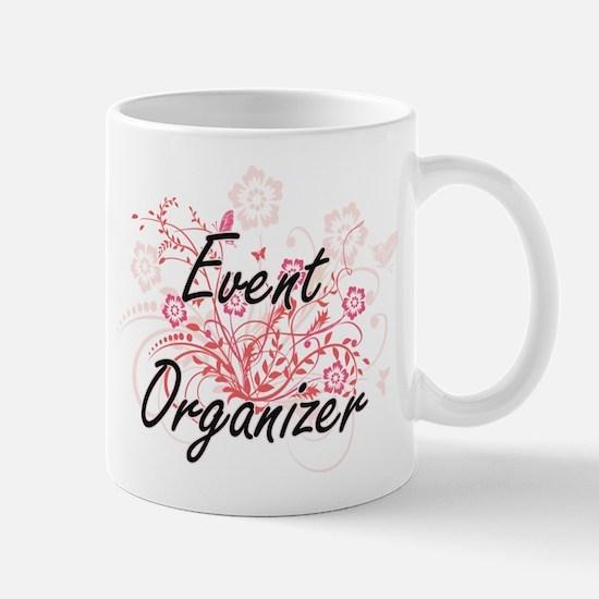 Event Organizer Artistic Job Design with Flow Mugs