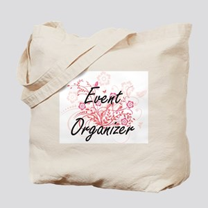 Event Organizer Artistic Job Design with Tote Bag