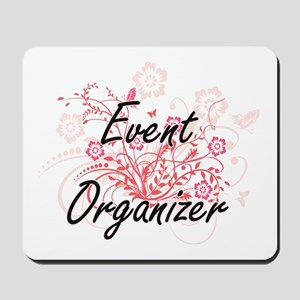 Event Organizer Artistic Job Design with Mousepad