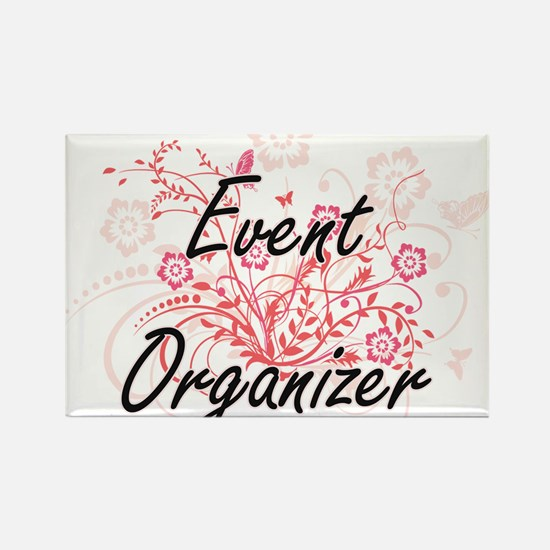 Event Organizer Artistic Job Design with F Magnets