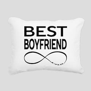 BEST BOYFRIEND EVER Rectangular Canvas Pillow