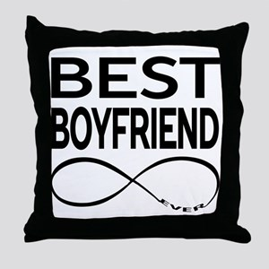 BEST BOYFRIEND EVER Throw Pillow