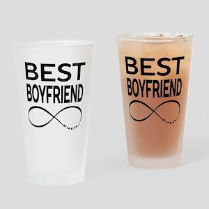 BEST BOYFRIEND EVER Drinking Glass