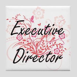 Executive Director Artistic Job Desig Tile Coaster