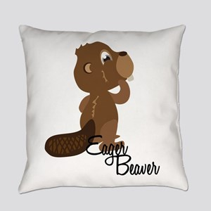 Eager Beaver Everyday Pillow