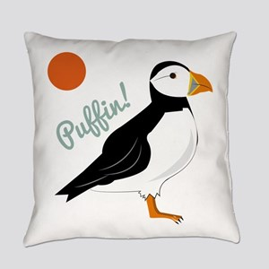 Puffin! Bird Everyday Pillow