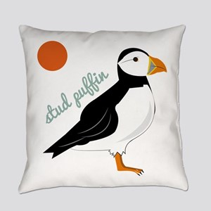 Stud Puffin Everyday Pillow