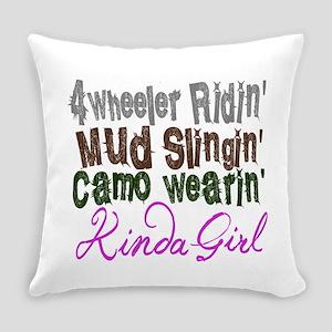 camo wearin, Everyday Pillow