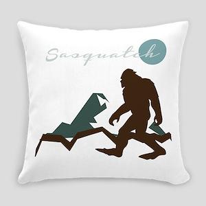 Sasquatch Mountain Everyday Pillow