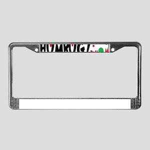 Bah Humbug Chr License Plate Frame