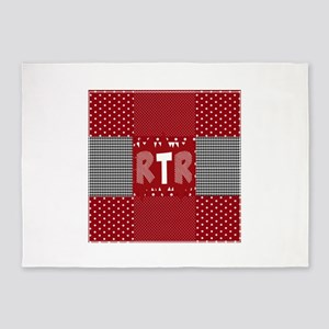 RTR houndstooth 5'x7'Area Rug
