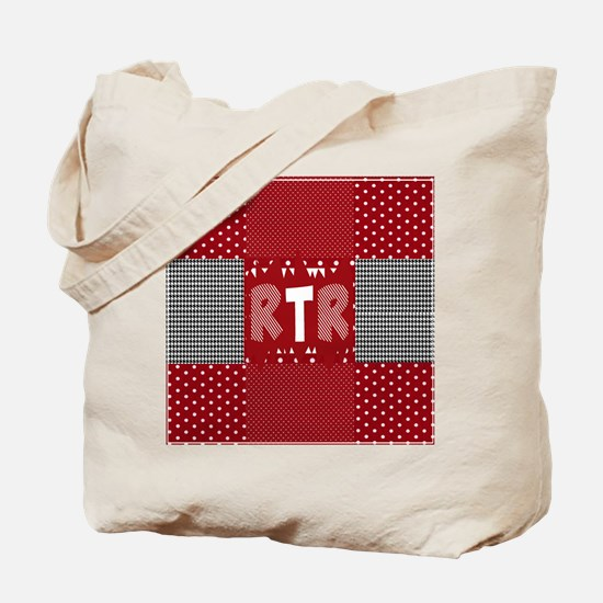 RTR houndstooth Tote Bag