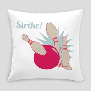 Strike Bowling Everyday Pillow