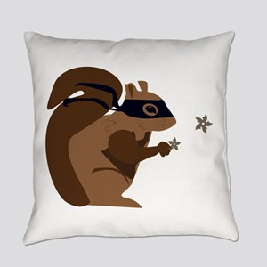 Masked Squirrel Everyday Pillow
