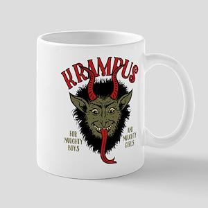 Krampus Face Naughty Mugs