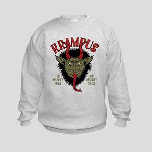 Krampus Face Naughty Sweatshirt