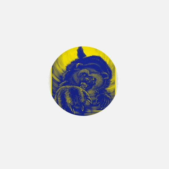 Wolverine Enraged Mini Button