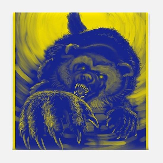 Wolverine Enraged Tile Coaster