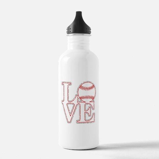 Love Baseball Classic Water Bottle