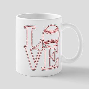 Love Baseball Classic Mugs