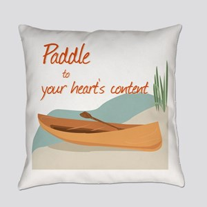 Paddle Hearts Everyday Pillow