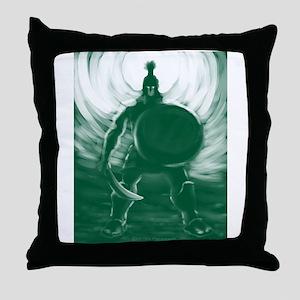 Hoplite Warrior Throw Pillow