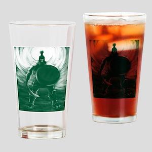 Hoplite Warrior Drinking Glass