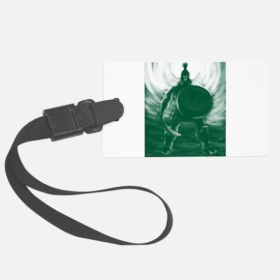 Hoplite Warrior Luggage Tag