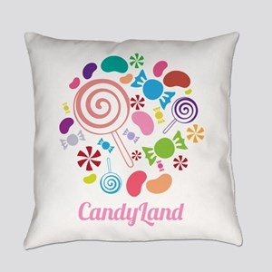 Candy Land Everyday Pillow