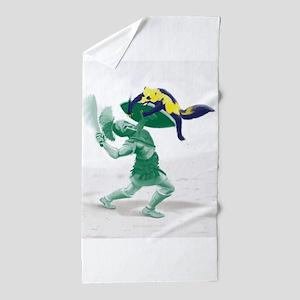 Hoplite vs. Wolverine Beach Towel