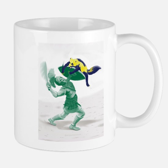 Hoplite vs. Wolverine Mugs