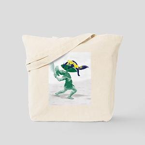 Hoplite vs. Wolverine Tote Bag