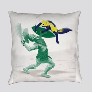 Hoplite vs. Wolverine Everyday Pillow