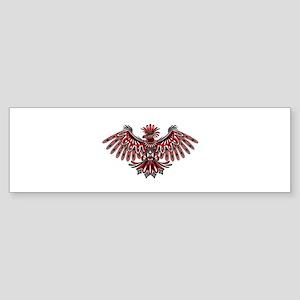 Eagle Tattoo Style Haida Art Bumper Sticker