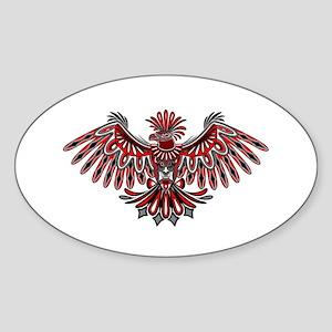 Eagle Tattoo Style Haida Art Sticker