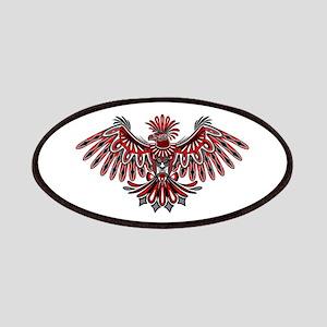 Eagle Tattoo Style Haida Art Patch