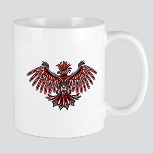 Eagle Tattoo Style Haida Art Mugs
