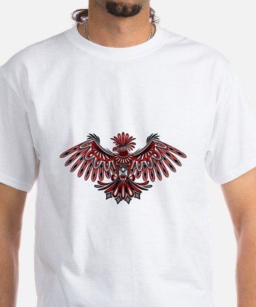 Eagle Tattoo Style Haida Art T-Shirt